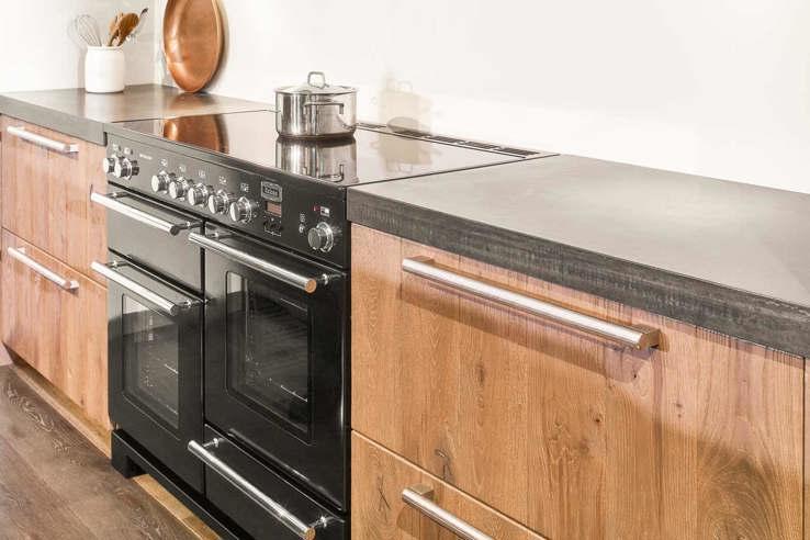 Favoriete Houten keuken met beton? Lees blog vol inspiratie en voorbeelden &FF37