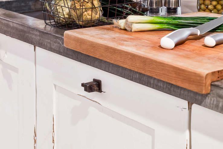 New Houten keuken met beton? Lees blog vol inspiratie en voorbeelden &US08