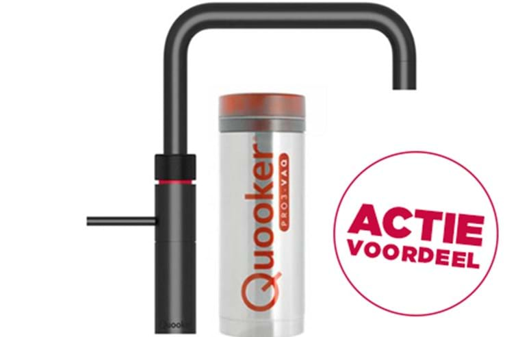 Quooker gratis upgrade - rechts