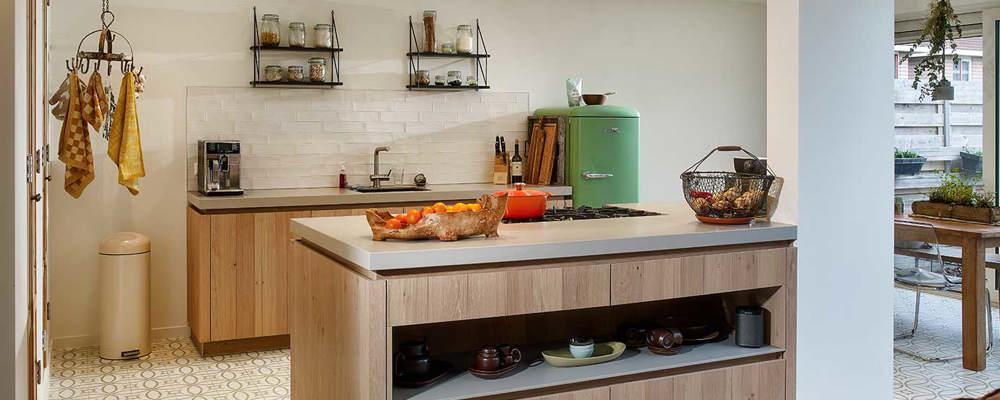 Houten Moderne Keuken In Rotterdam Kopen Bekijk Binnenkijker