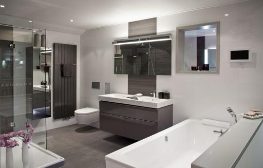 Wandtegels badkamer modern en wellness informeer db for Wandtegels badkamer