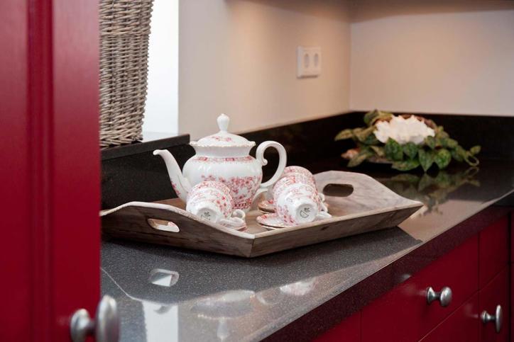 Hier Vind Je Onze Landelijke Keukens : Rode keukens. opvallende keuken ...