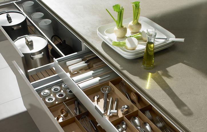 Siematic keukens innovatie en ongekende luxe db keukens - Centrale design keuken ...