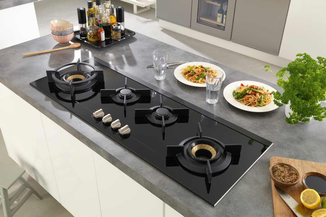 Glasplaat Keuken Schoonmaken : Kookplaten – DB Keukens