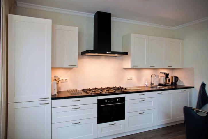 Witte keuken licht - Keuken licht eiken ...