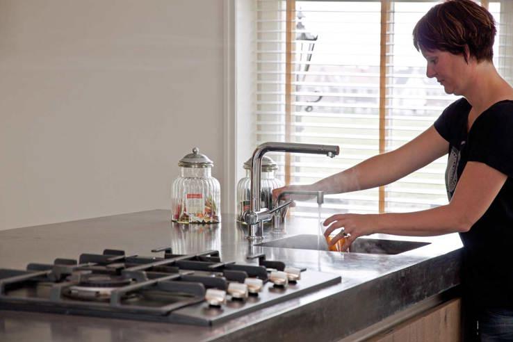 Hoogte Werkblad Keuken.Standaard Hoogte En Diepte Van Aanrechtblad En Keukenkast