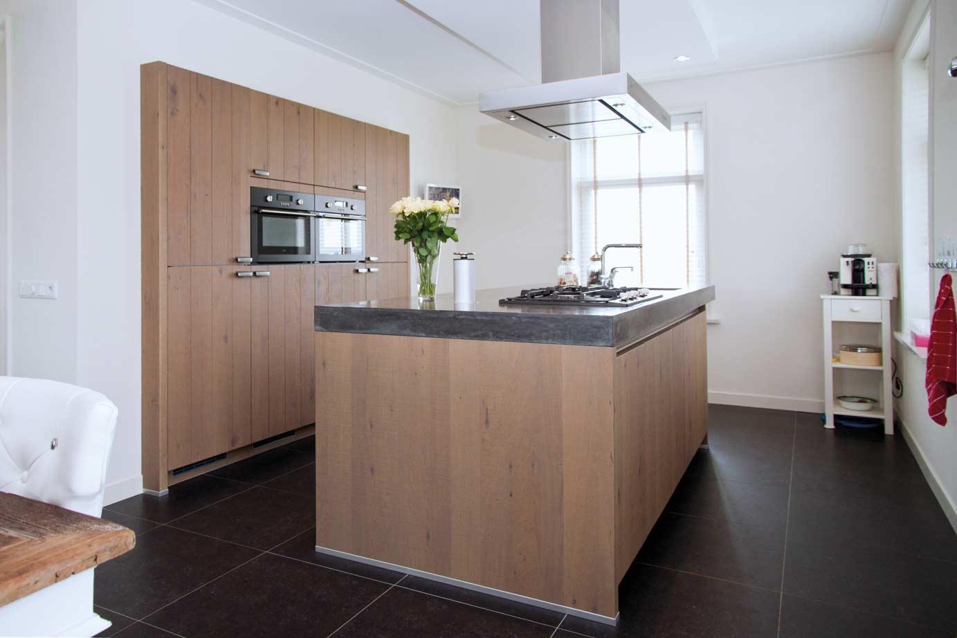 Houten keukenfronten maatwerk lades en deuren ikea keukens