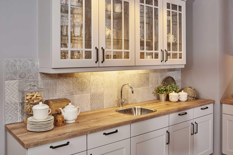 Houten Werkblad Keuken : Houten aanrechtblad natuurlijke sfeer comfortabel db keukens