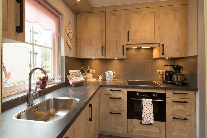 Keuken landelijk hout