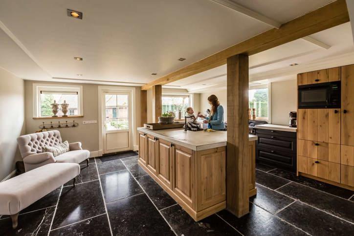 Kookeiland Keuken Houten : Houten keuken. voor elk budget en stijl. ook met wit db keukens