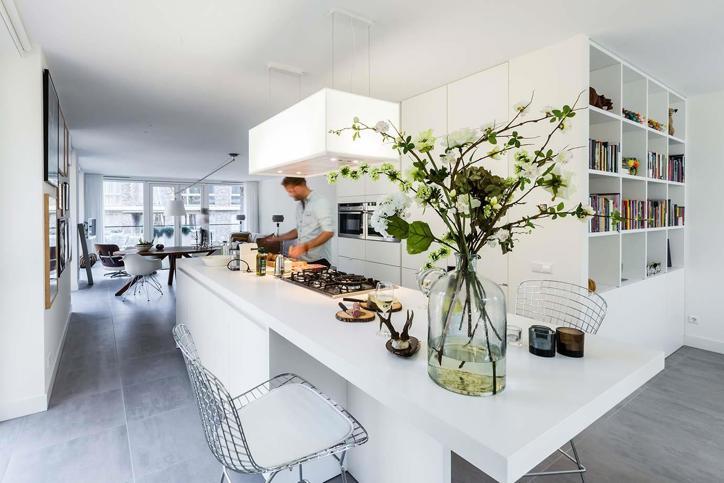 Keuken Kookeiland Design : Een keukeneiland of kookeiland? bekijk 50 keukens db keukens