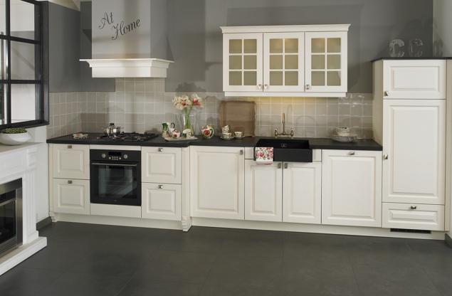 Klassieke keukens beleef de sfeer en rust van vroeger db keukens - Kleine keuken amerikaanse keuken ...