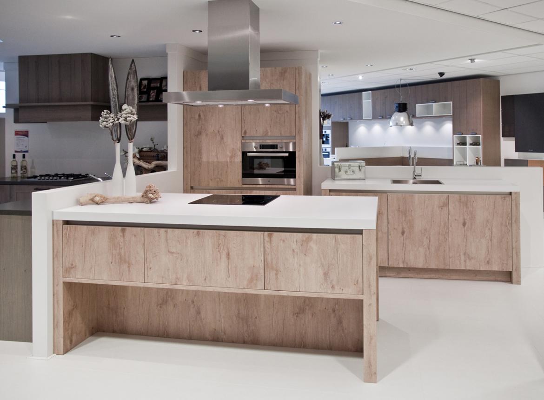 Keuken met kookeiland compleet met apparatuur db keukens - Prijs keuken met kookeiland ...