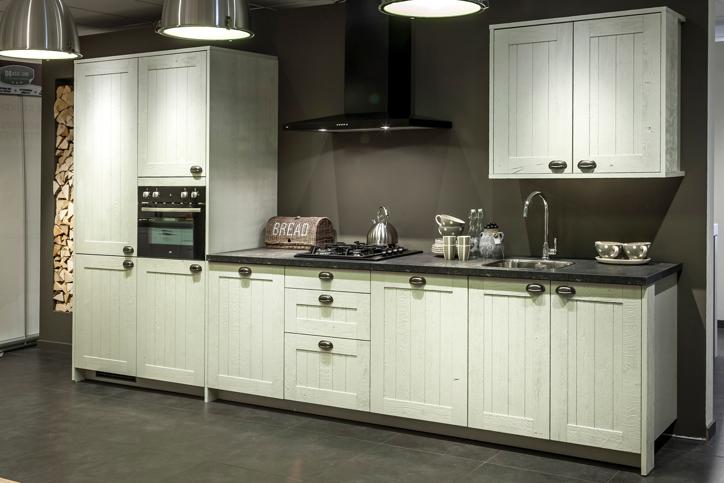 Keukens Rechte Opstelling: Keukens moderne rechte keuken magnolia ...