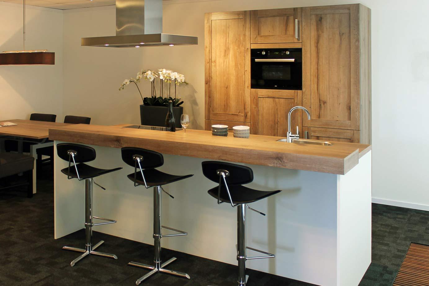 Keukens Met Kookeiland : Keuken met kookeiland Old Wood beleving DB Keukens