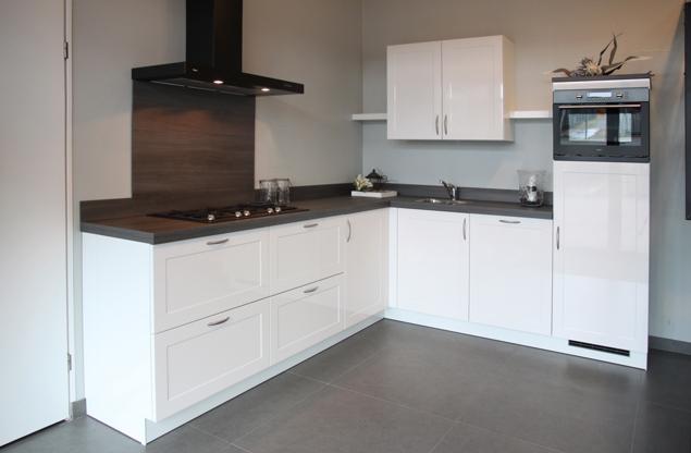 Witte keuken welk werkblad keuken met composiet werkblad strakke in witte - Kleur witte keuken ...