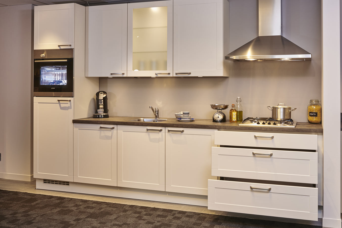 Simpele keuken kleur in de keuken tijdens feestdagen foodies prijzen badkamers u keukens bokt - Prijzen bulthaup b ...