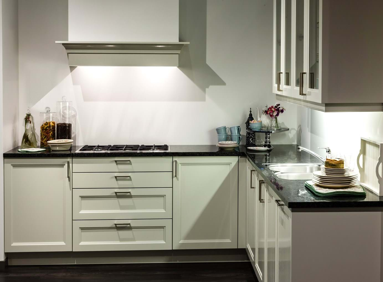 Ontwerp hoogglans keuken - Keuken ontwerp lineaire ...