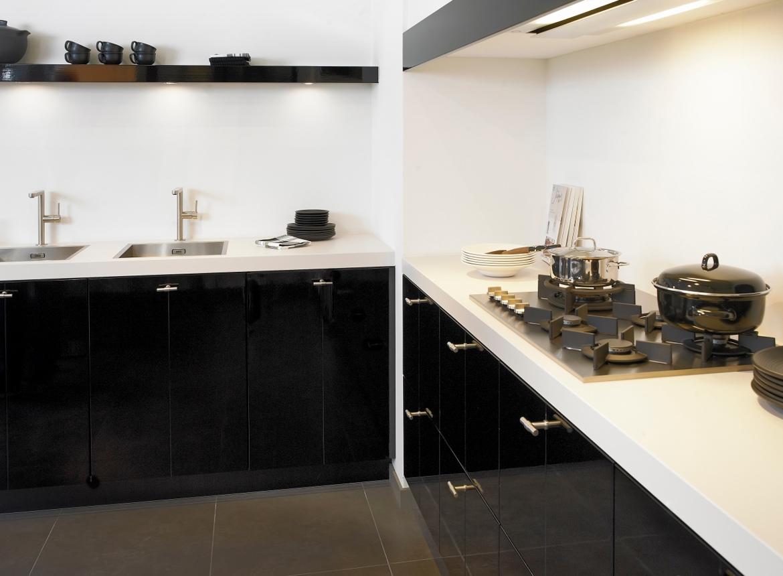 Design keuken met keramiek aanrechtblad db keukens - Keuken design werkblad ...