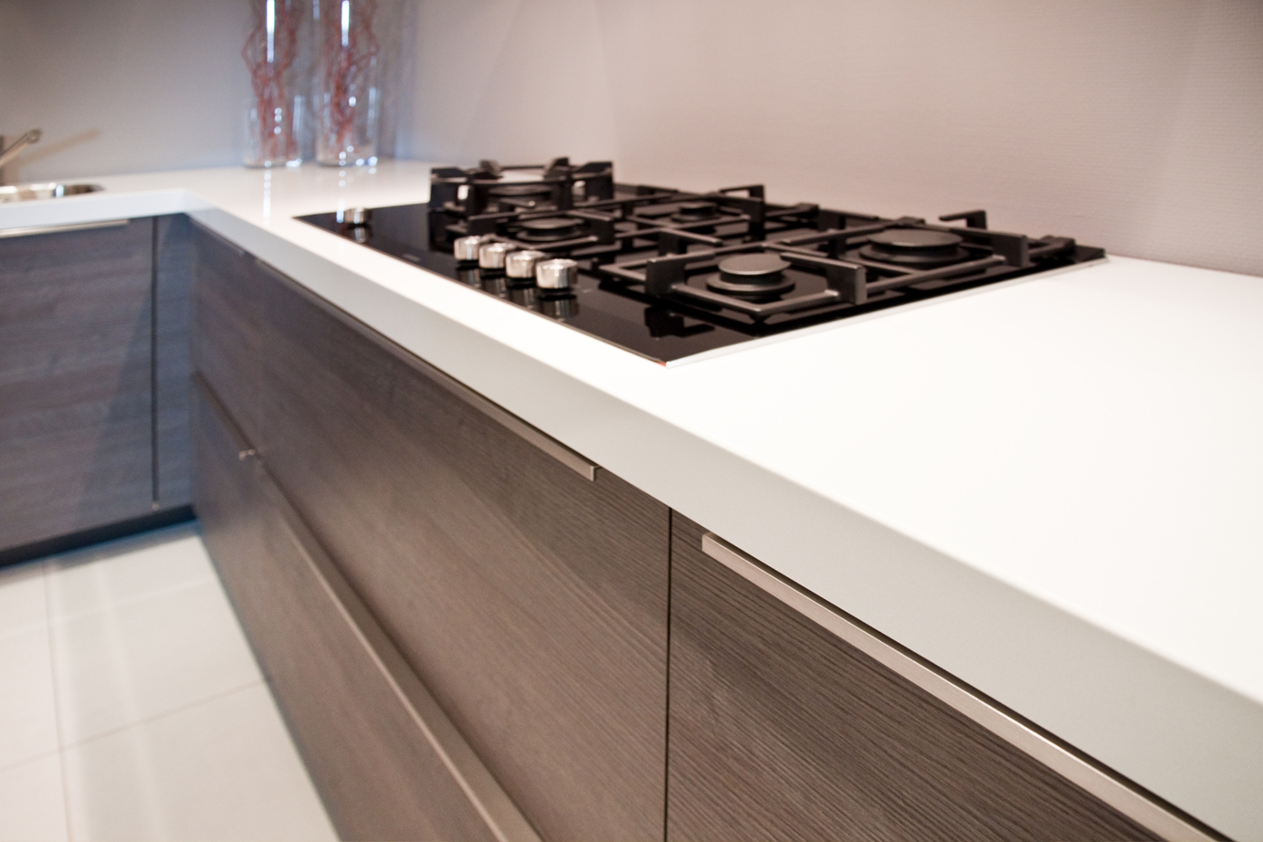 Keuken Zonder Bovenkastjes : Rechte Keuken Zonder Bovenkastjes : Design keuken mooi strak, zonder