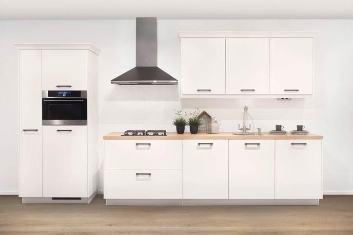Witte keuken gevoel van rust en ruimte laat u inspireren db keukens - Kleur witte keuken ...
