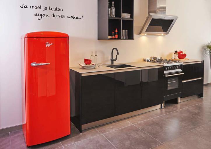 Design Wandtegels Keuken : Greeploze keuken strak design en prettig ...