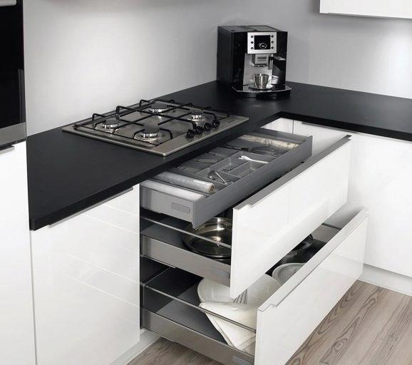 Magnifiek Hoogglans keuken. Bekijk voorbeelden. Ook in wit. - DB Keukens &UZ86