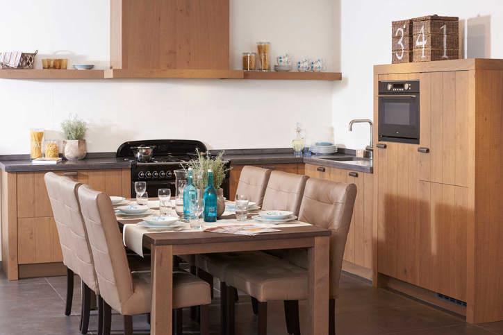 Houten keuken. voor elk budget en stijl. ook met wit   db keukens