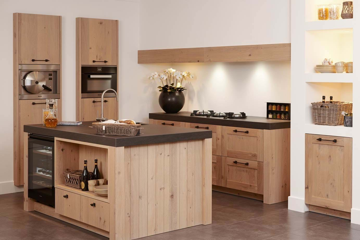 Moderne Rechte Keuken Houtkleur : Keukenfronten. Alle informatie over ...