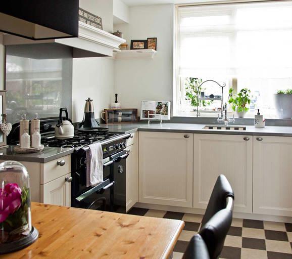 Landelijke keuken taupe landelijke keuken groen tieleman exclusief chelsea kopen keukens - Center meubilair keuken ...