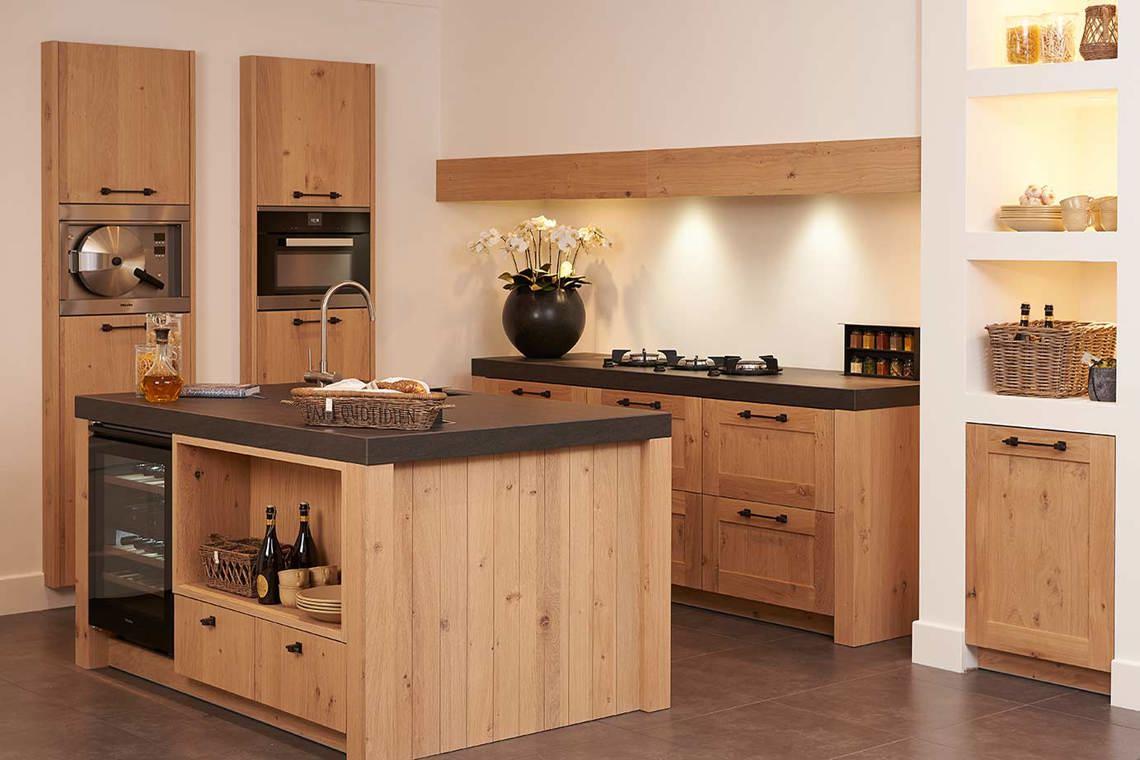 Old Wood keukens, eiken keukens. Natuurlijk schoon! - DB Keukens