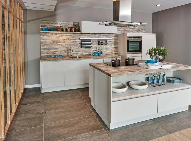 Keukeneiland huismerk keuken dbasic line db keukens - Prijs keuken met kookeiland ...