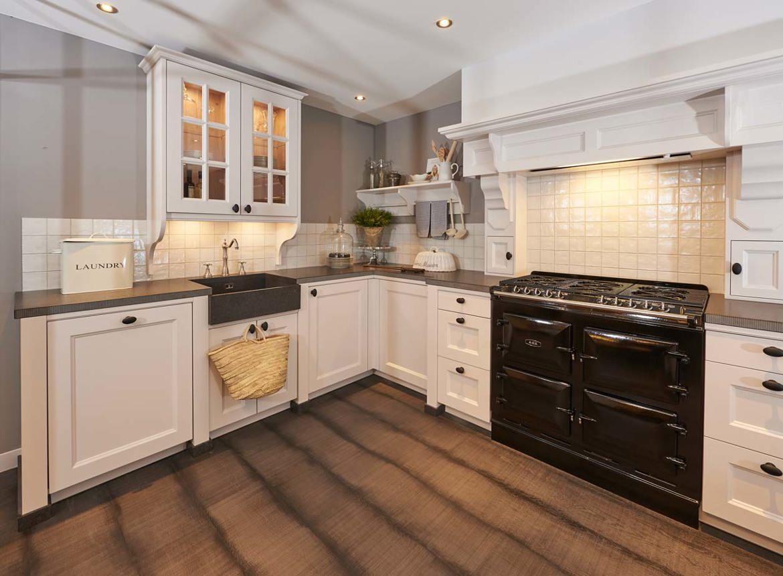 Ongebruikt Luxe landelijke keuken op maat gemaakt. Met AGA fornuis. - DB Keukens WP-21