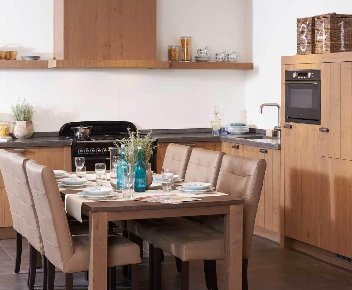 Witte Keuken Houten Werkblad ~ Beste Inspiratie voor Huis Ontwerp