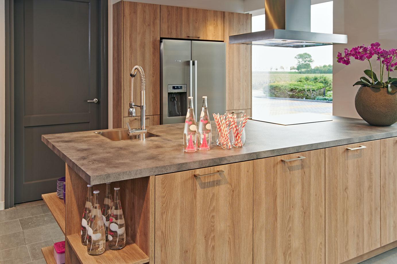 Keuken Met Amerikaanse Koelkast : voor heeft, is een Amerikaanse koelkast dus een geweldige optie