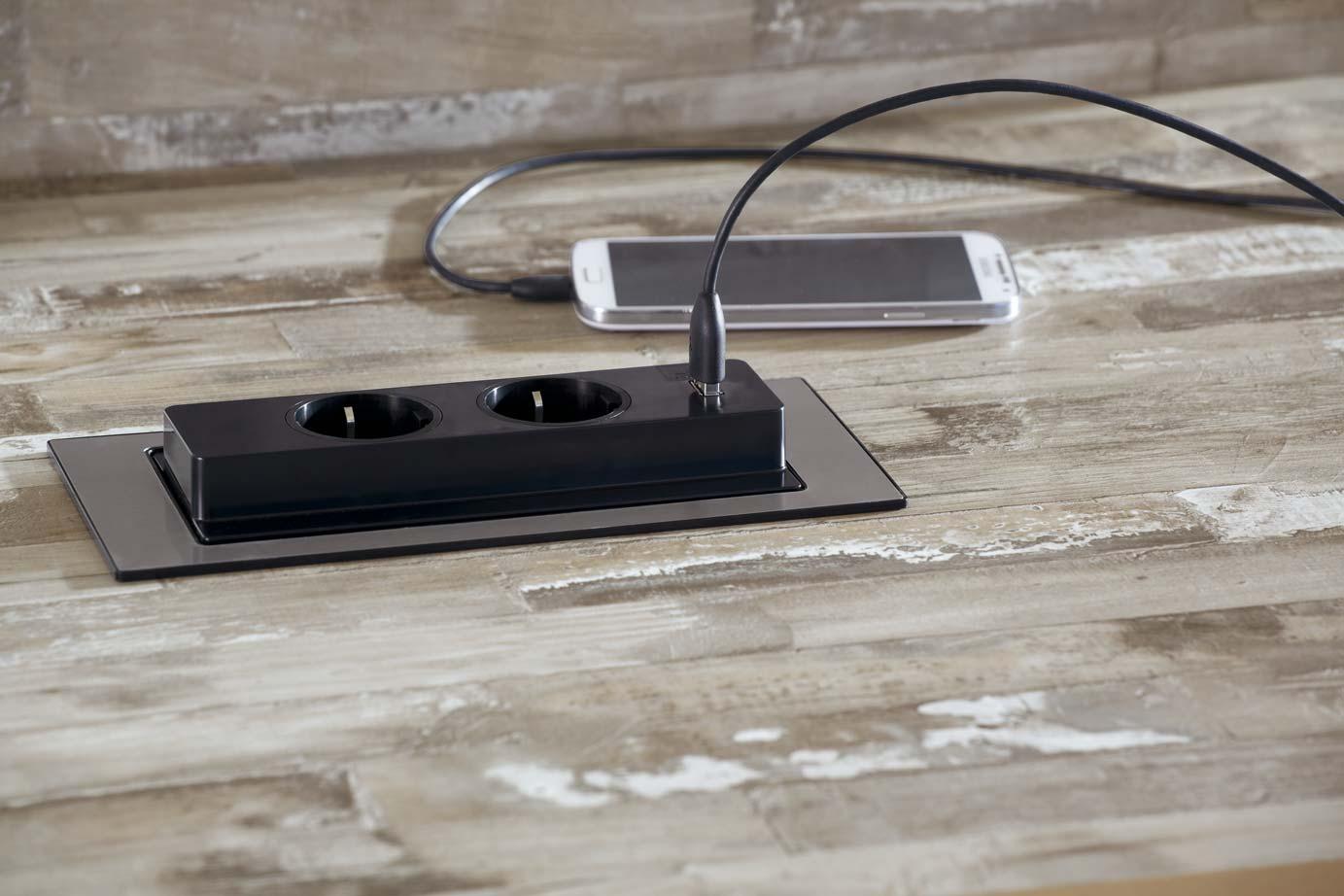 Goedkope Designradiator Keuken : Stopcontact in werkblad / aanrechtblad – DB Keukens