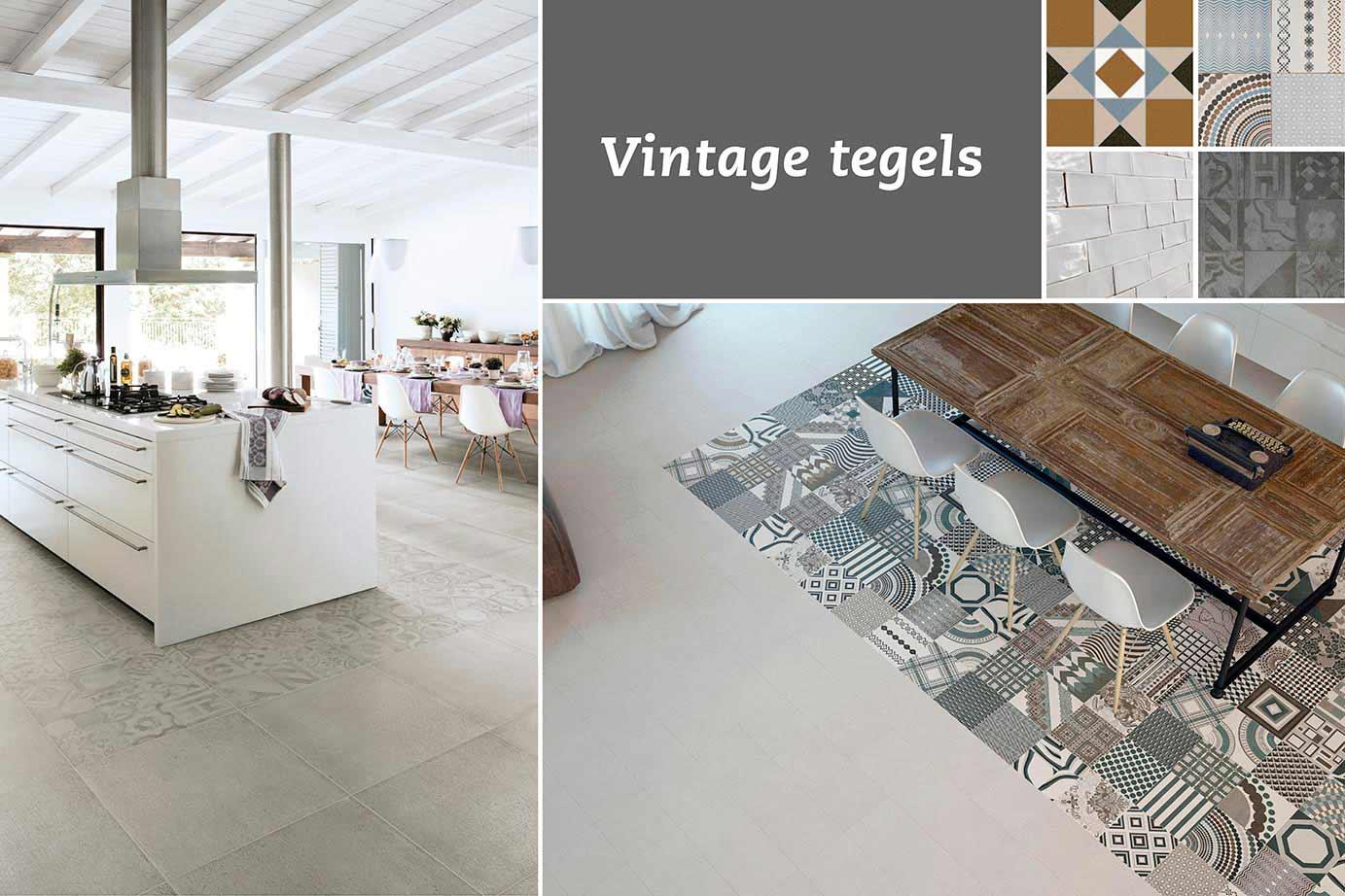 Vintage Keuken Tegels : Unieke patronen en exclusieve uitstralingen