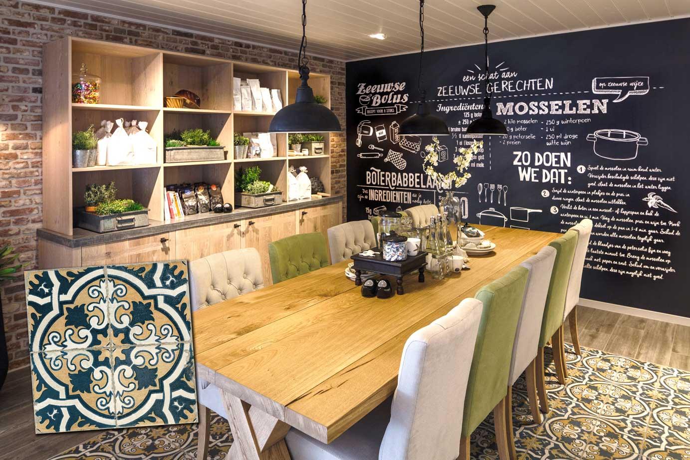 Portugese Tegels Keuken : De voordelen van keramische vintage tegels: