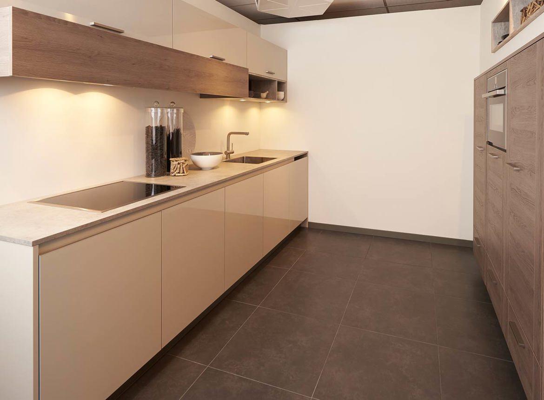 Genoeg keuken parallel opstelling bi 68 blessingbox for Keuken outlet alkmaar