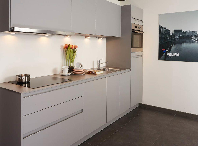Moderne greeploze rechte keuken beste inspiratie voor huis ontwerp - Center meubilair keuken ...
