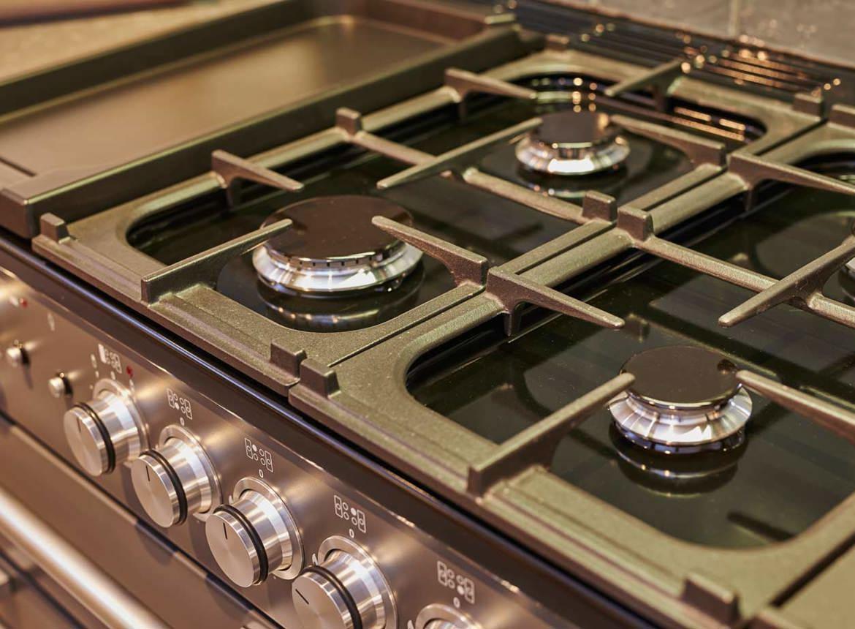 Houten keuken met spoeleiland - DB Keukens
