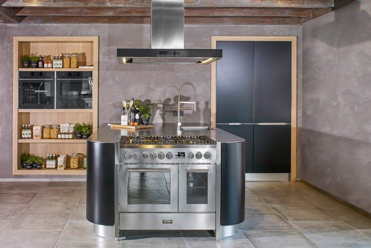 hoogglans wit kookeiland of keukeneiland tot een keuken met kookeiland ...
