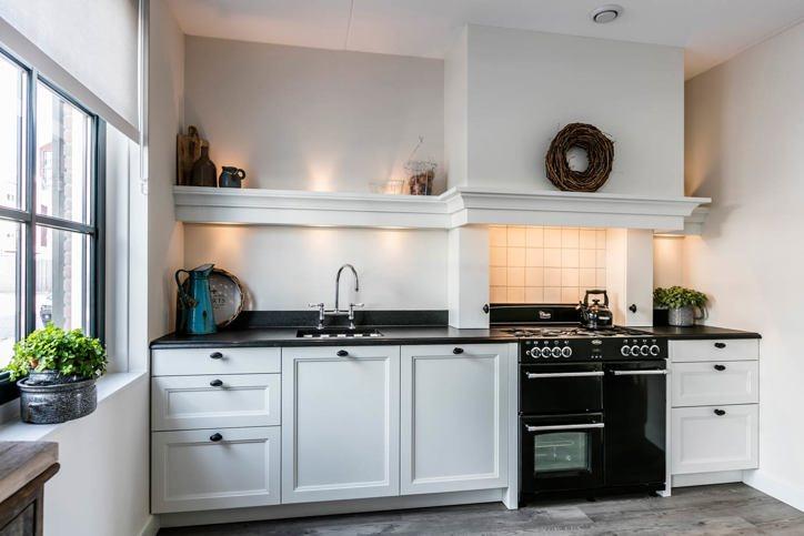 Landelijk Geel Keuken : Witte keuken: gevoel van rust en ruimte. laat u inspireren! db keukens