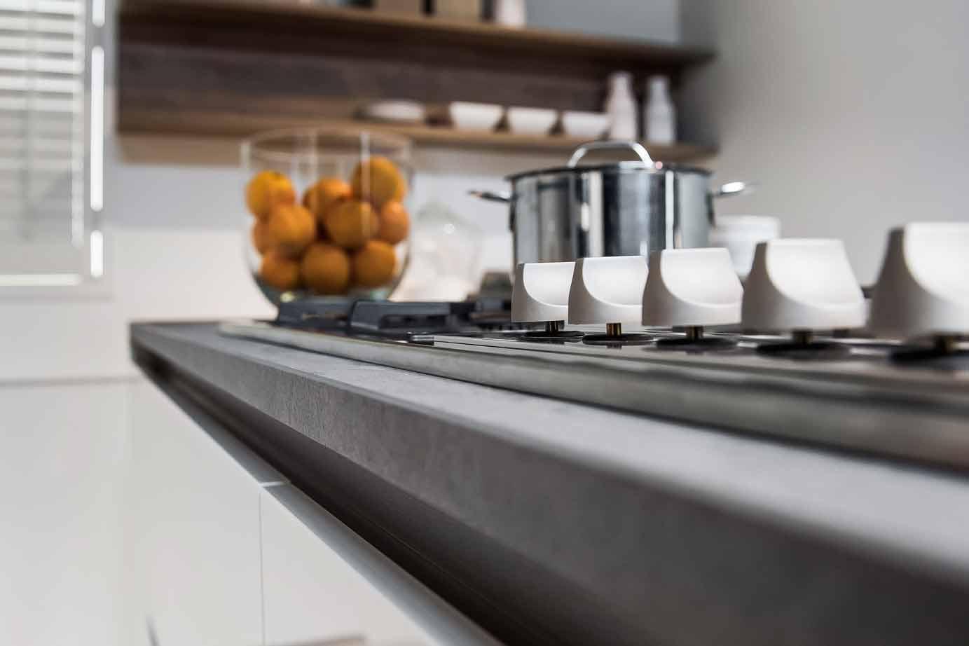 Moderne keuken met eiland referenties op huis ontwerp interieur
