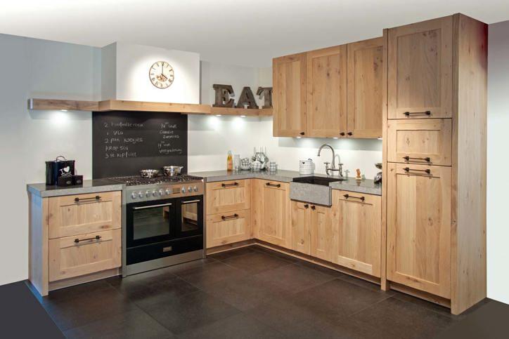 Landelijke keukens mooi wonen in landelijke stijl db for Keuken landelijk modern