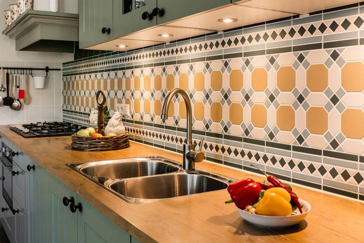 Strak Keuken Tegels : Design tegels. zo decoratief! lust voor het oog. db keukens