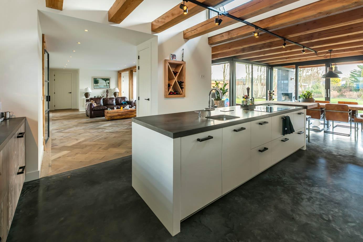 Landelijk Moderne Keukens : Landelijk moderne keuken in limmen lees klantervaring db keukens