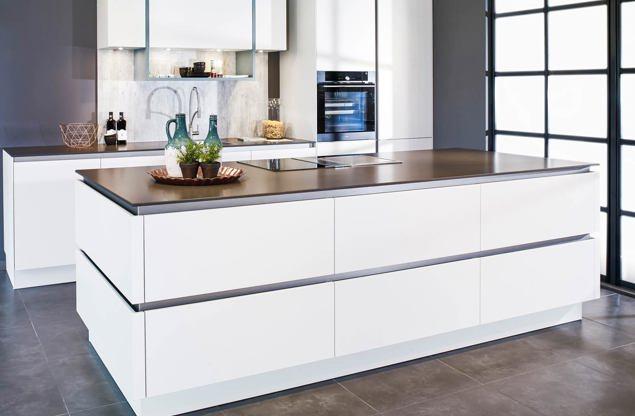 Hoogglans keuken chique modern hip bekijk voorbeelden db keukens - Mode keuken deco ...