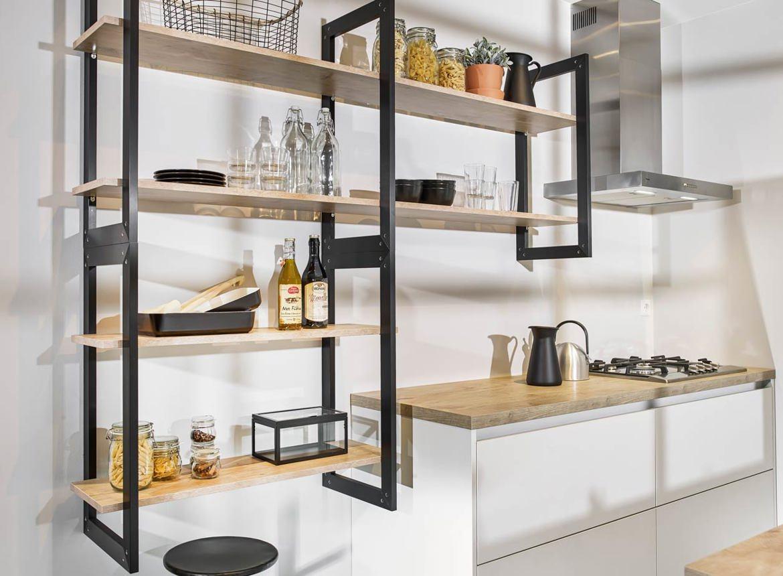 Industri le parallel keuken in moderne stijl db keukens - Industriele stijl keuken ...