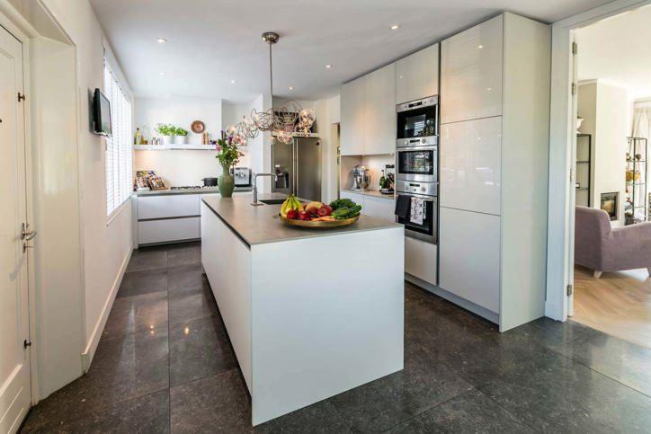Kookeiland Wit Hoogglans : Moderne keukens incl. 60 fotos en prijzen. db keukens